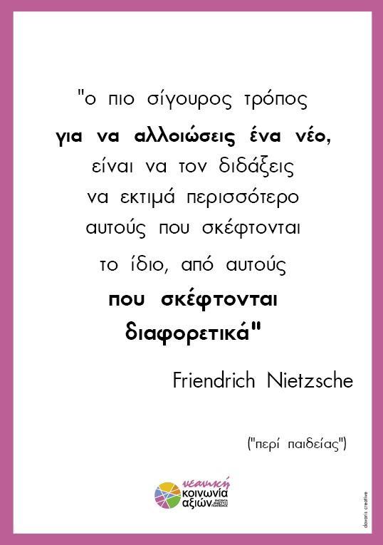 Περί παιδείας - Nietzsche